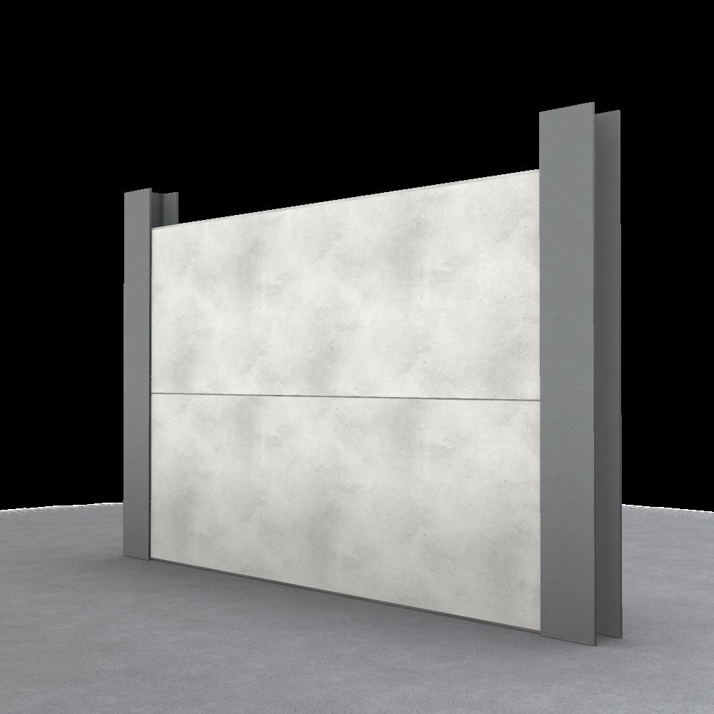 King Post Retaining Wall - JP Concrete